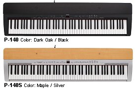 yamaha p120 and p140 comparison piano and synth magazine. Black Bedroom Furniture Sets. Home Design Ideas