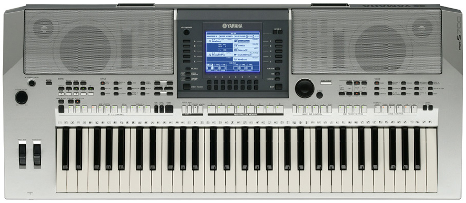 Yamaha PSR-S700 Top