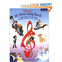 Disney's My First Songbook for Easy Piano