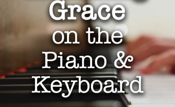 How to play Amazing Grace on the piano keyboard - mastering songs