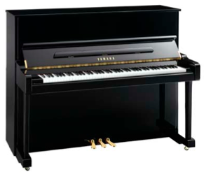 "yamaha t121 sc 48"" upright acoustic piano"