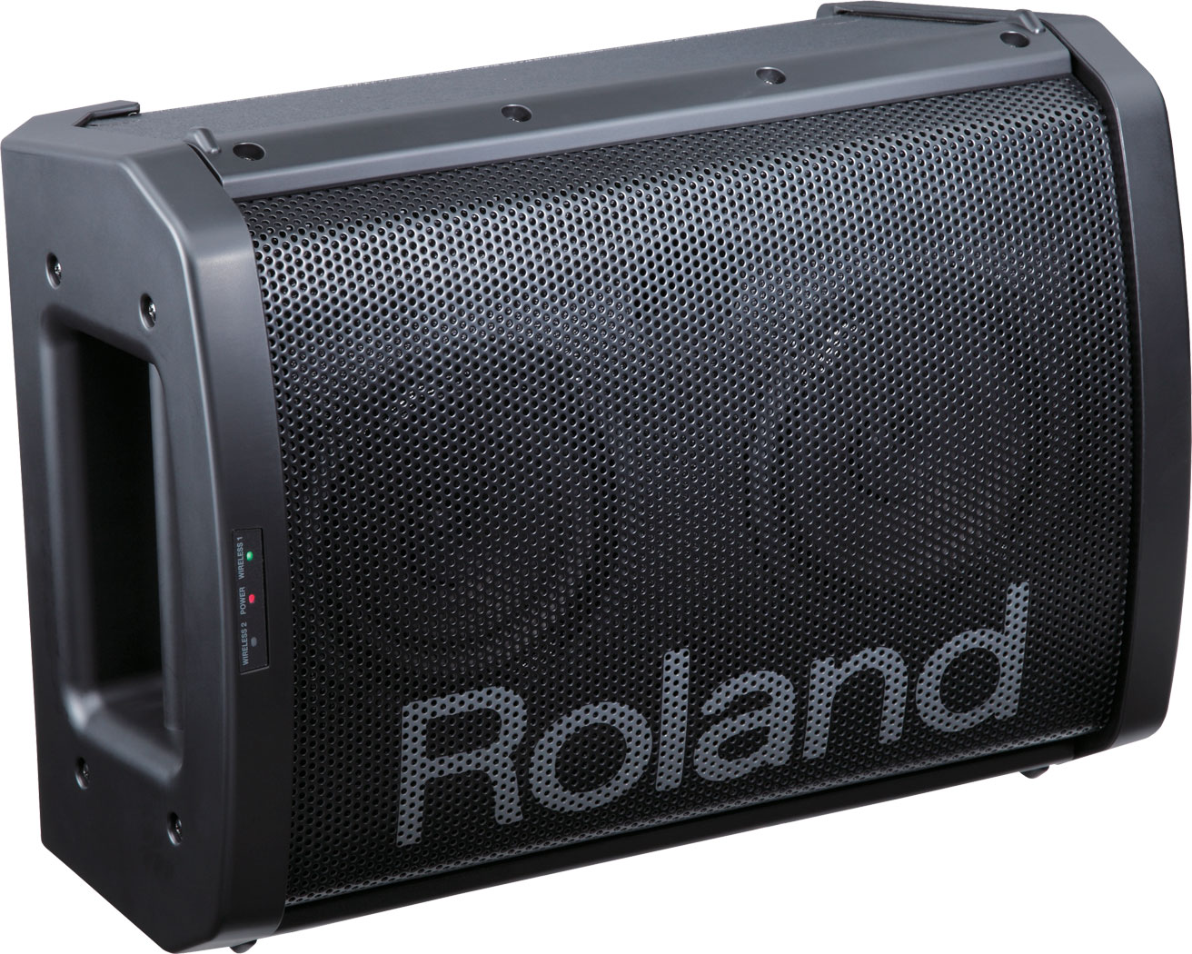 roland intros ba 55 portable amp with easy switching modes piano and synth magazine. Black Bedroom Furniture Sets. Home Design Ideas
