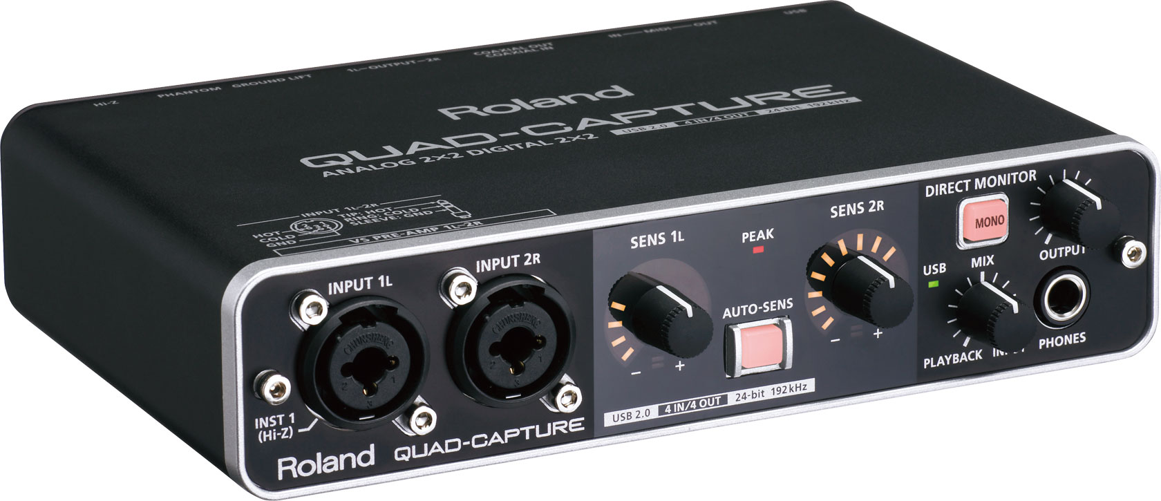 Roland Quad-Capture USB audio interface