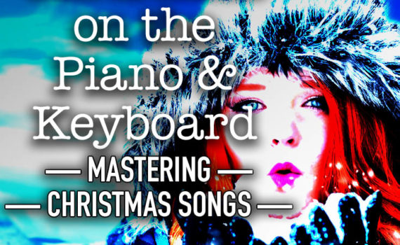 How to play White Christmas on the piano and keyboard - mastering Christmas songs