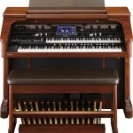 Roland Atelier AT-900 Platinum Edition organ front view