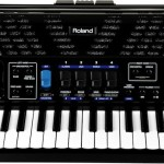 Roland FR-1x V-Accordion Black front view