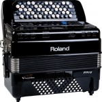Roland FR-1x V-Accordion Black closed view