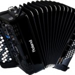 Roland FR-1x V-Accordion Black open view