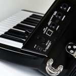 Roland FR-1x V-Accordion Black side view