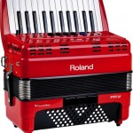 Roland FR-1x V-Accordion Red view