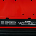 Roland FR-1x V-Accordion Red battery compartment view