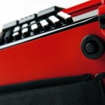 Roland FR-1x V-Accordion Red bottom view