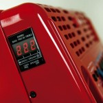 Roland FR-1x V-Accordion Red display closeup view