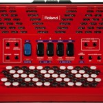 Roland FR-1x V-Accordion Red front view