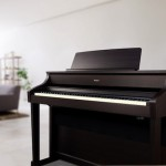 Roland HP507 Digital Piano in the home