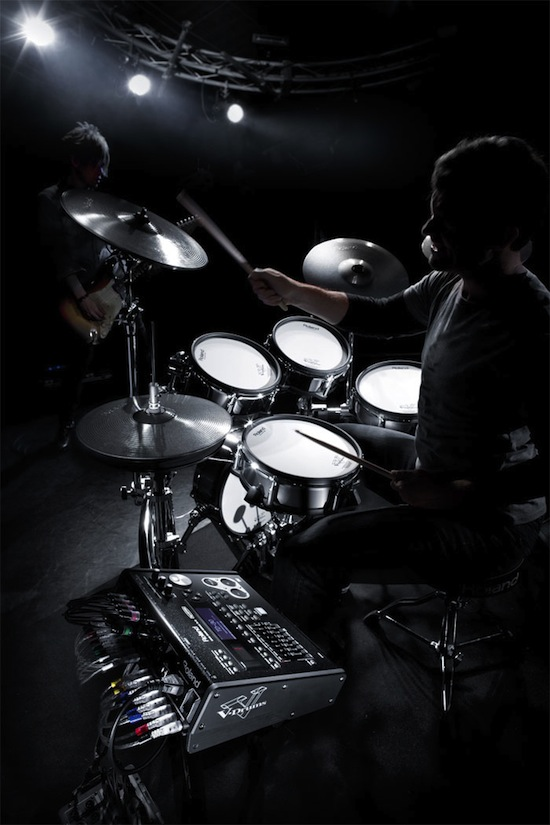 roland introduces v drums v pro series namm12 piano and synth magazine. Black Bedroom Furniture Sets. Home Design Ideas