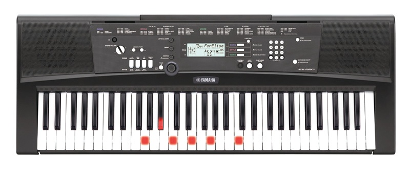 Yamaha EZ-220 Lighted Keyboard
