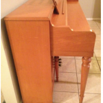 1956 Blonde Cable-Nelson spinet piano