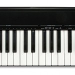 Alesis Q61 controller keyboard top view