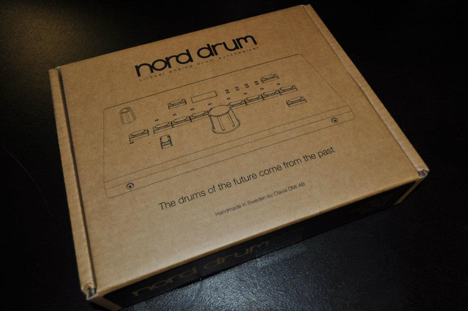 Nord Drum unboxing - box