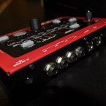 Nord Drum unboxing - module rear view
