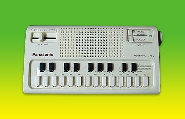 Panasonic R-1088 AM radio mini organ