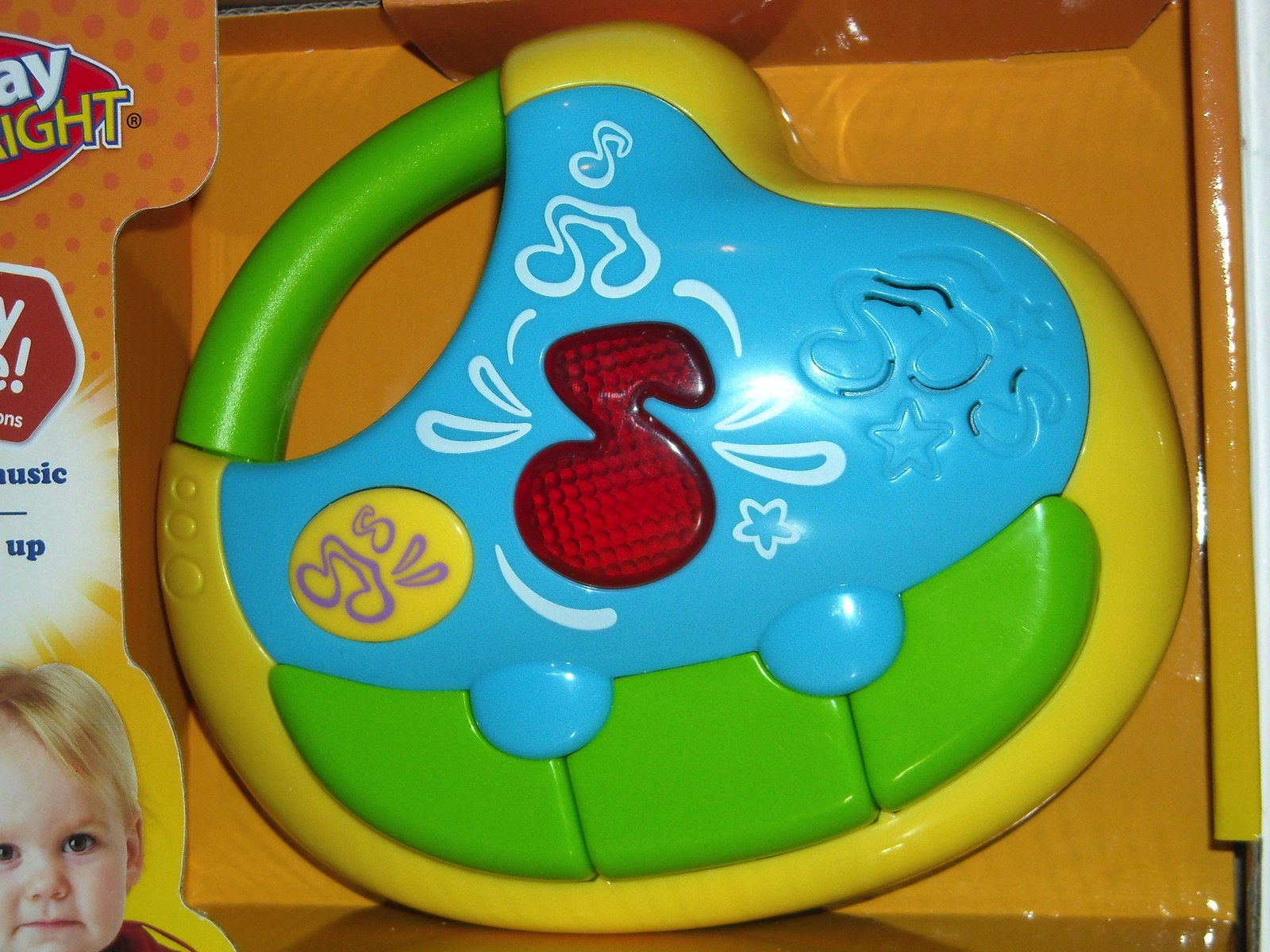 BABYS FIRST PIANO MUSICAL INSTRUMENT