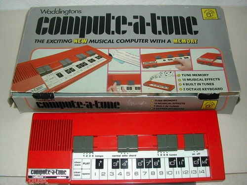COMPUTE A TUNE - TOY KEYBOARD