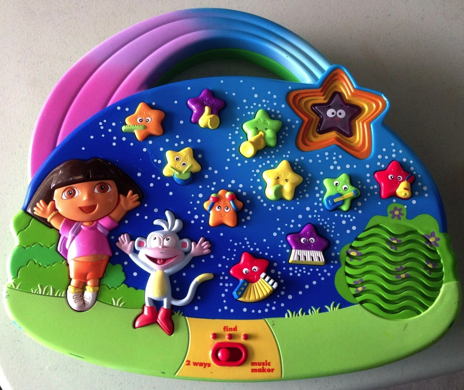 DORA THE EXPLORER MUSIC INSTRUMENT