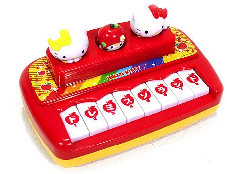 HELLO KITTY TOY PIANO