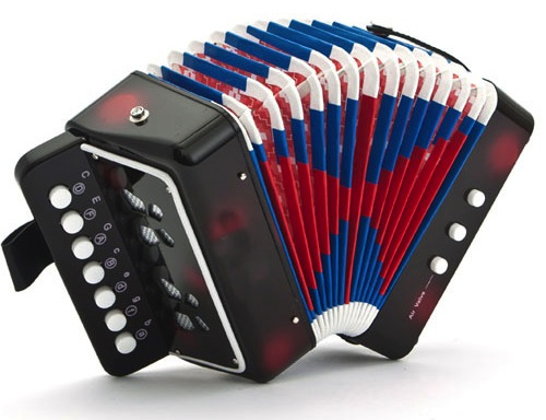 New Kids Instrument Music Accordion Button Piano