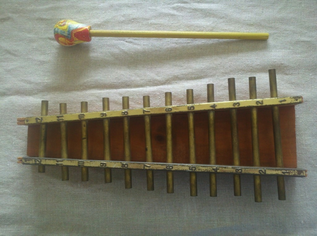 Vintage Xylophone 15 inch