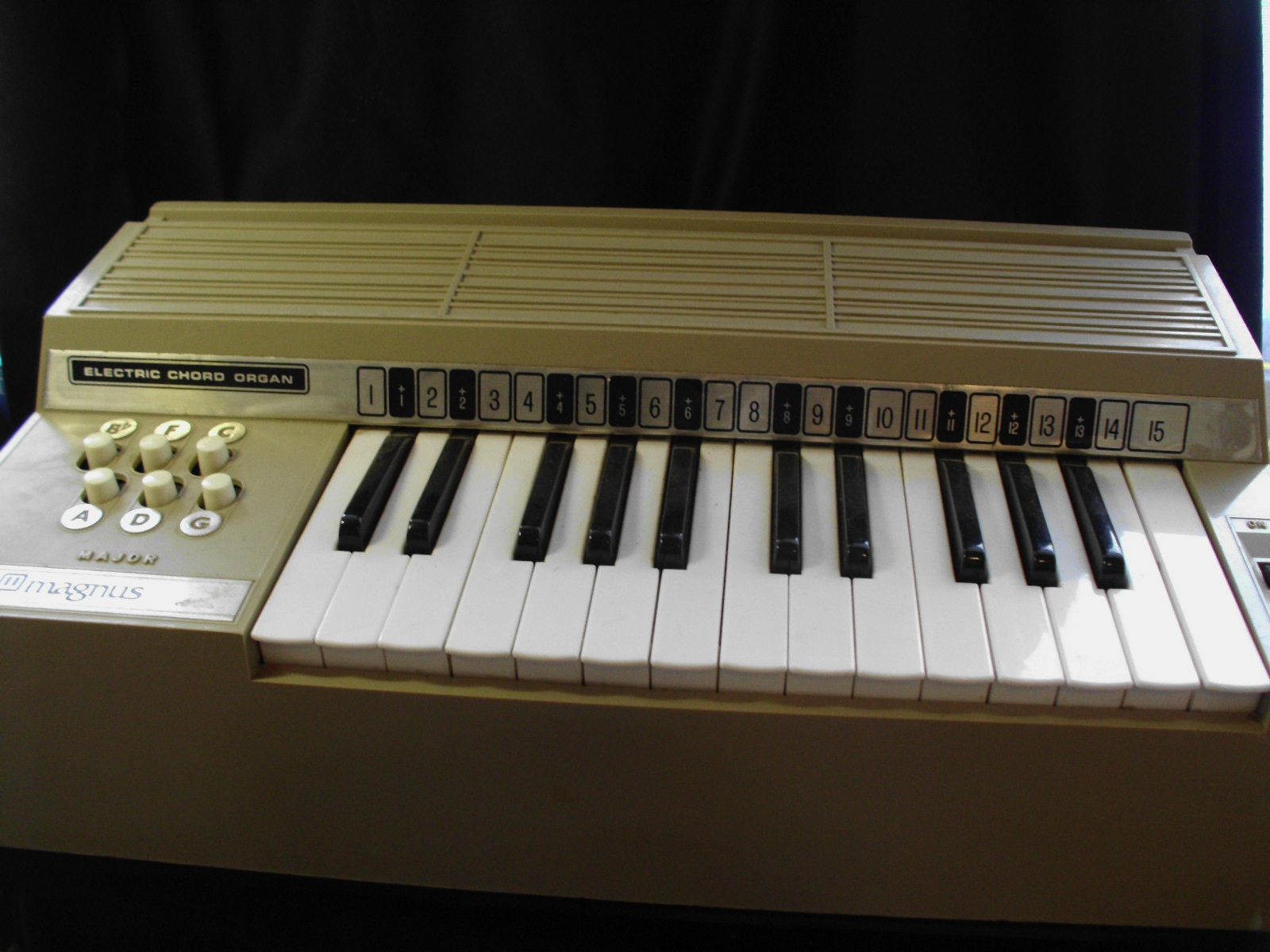 Vintage electric cord organ Magnus 6