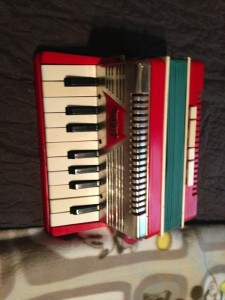 Vintage emenee Toy Accordion