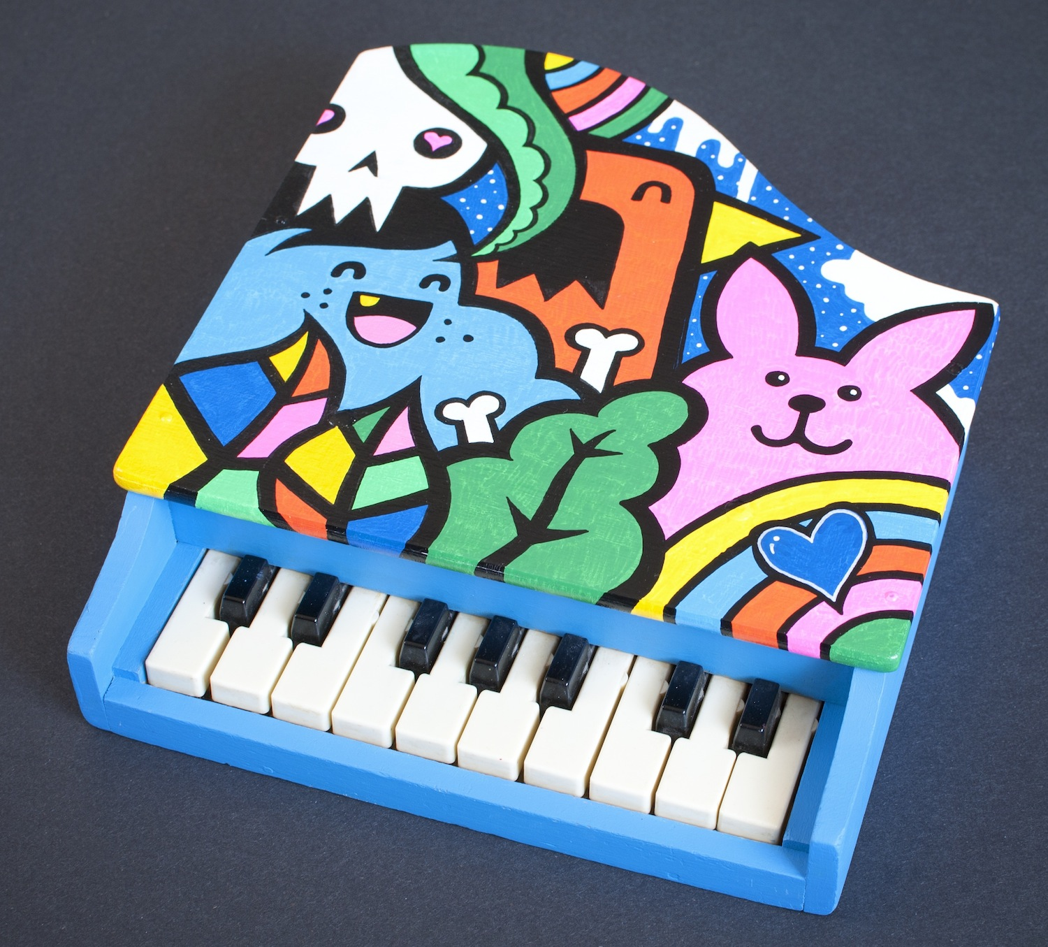 painted-toy-piano