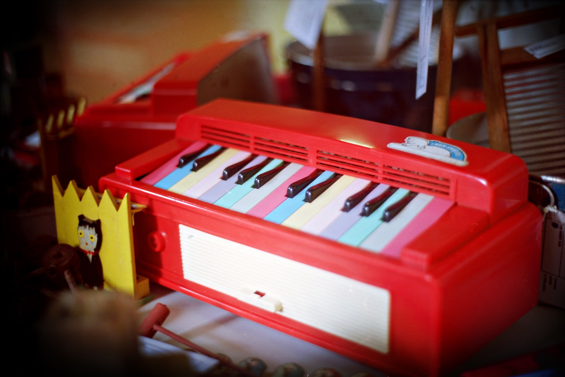 red-toy-piano