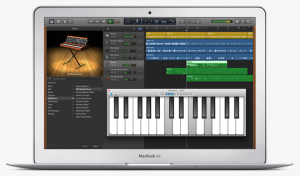 Apple GarageBand 10 for Mac OS X launched for free – Piano