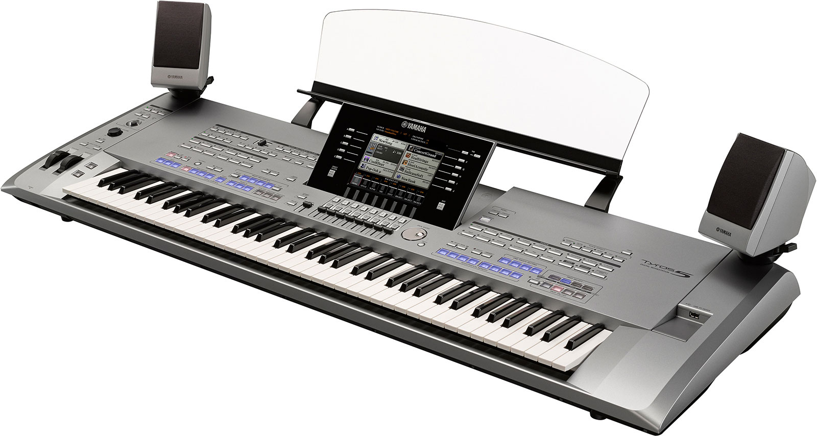 yamaha tyros 5 61 and 76 key models announced piano and. Black Bedroom Furniture Sets. Home Design Ideas