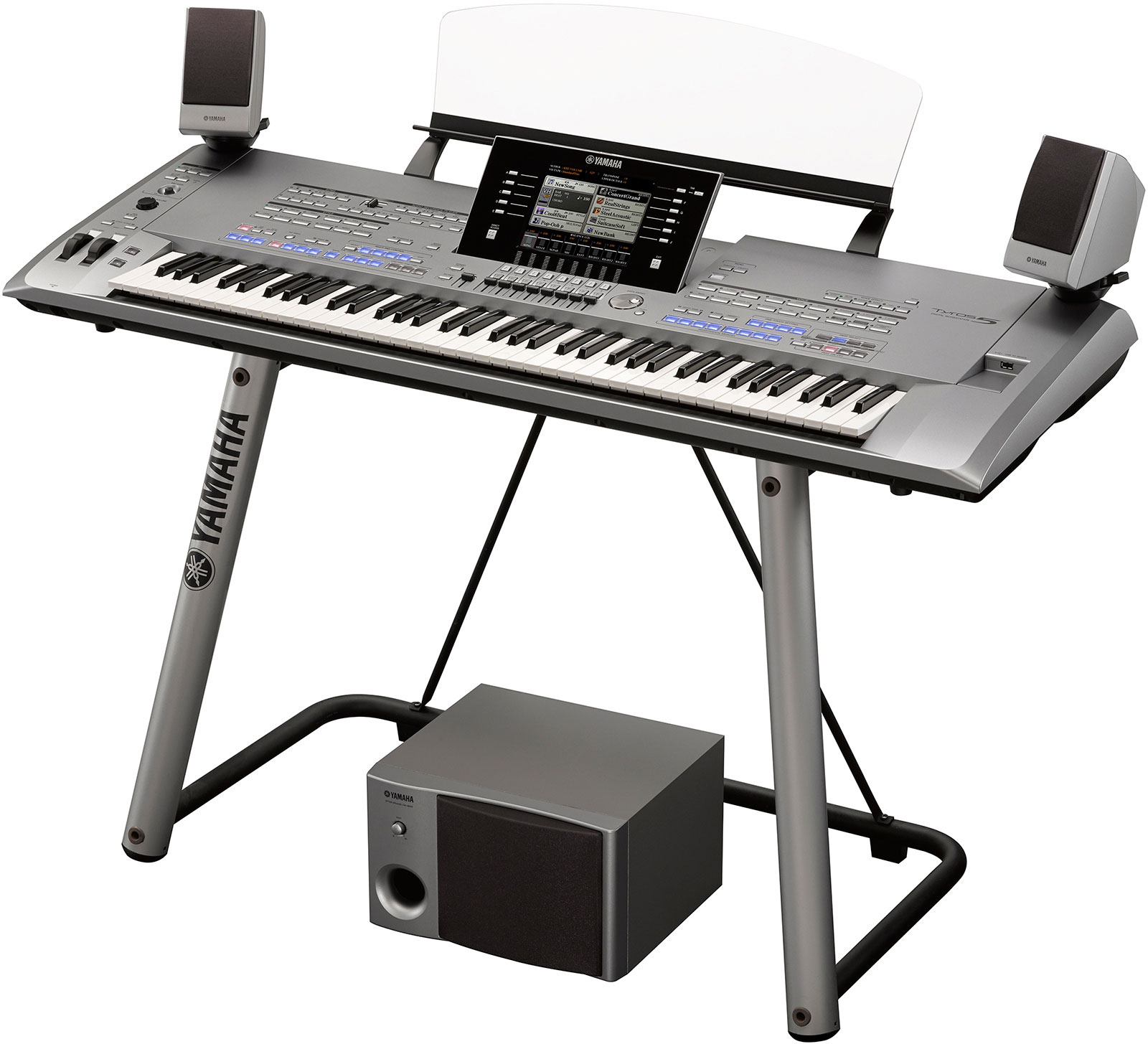 Yamaha tyros 5 61 and 76 key models announced piano and for Yamaha piano keyboard models