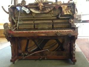 Mumford and Sons Steampunk piano