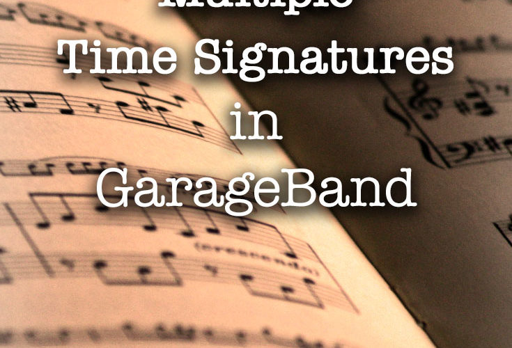 Piano Garage Band : How to have multiple time signatures in garageband u piano and
