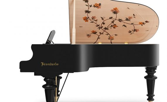 Bösendorfer Dragonfly grand piano