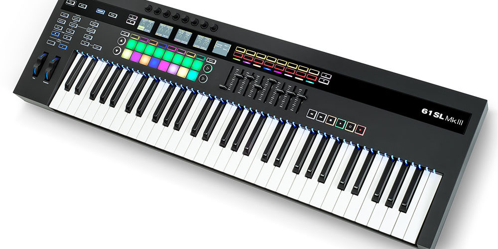 Novation SL MkIII keyboard controller