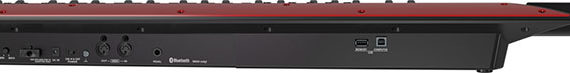 Roland AX-EDGE Keytar in black