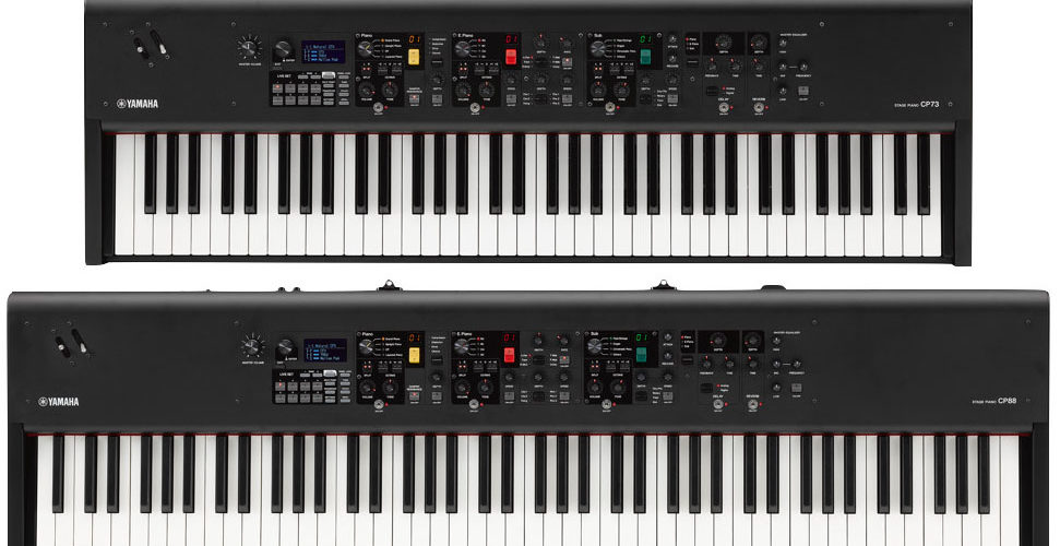 Yamaha CP73 and CP88 stage pianos